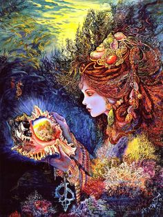Daughter of the Deep by Josephine Wall