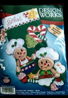 Check out this item in my Etsy shop https://www.etsy.com/listing/516182703/felt-xmas-stocking-kit-by-design-works