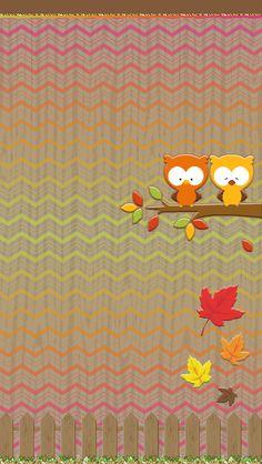 Phone Background Wallpaper, Owl Wallpaper, Wallpaper For Your Phone, Cellphone Wallpaper, Wallpaper Backgrounds, Thanksgiving Iphone Wallpaper, Holiday Wallpaper, Halloween Wallpaper, Owl Clip Art