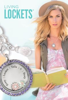 Living Lockets - Origami Owl Custom Jewelry(I would love one of these! Great Mother's Day idea! In silver