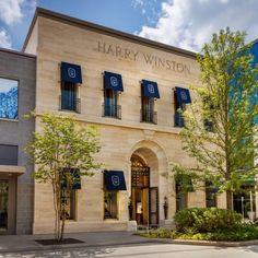 Harry Winston Houston Salon opens in Houston's River Oaks District - Houston Business Journal Business Journal, Harry Winston, Stars At Night, Store Design, Facade, Houston, Real Estate, Retail, River
