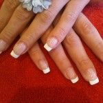 How To Give Yourself French Manicure at Home