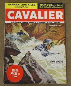 Cavalier Vol 4 39 September 1956 Paul Coates Frank McCarthy | eBay