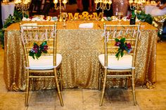 Sweetheart Table that Sparkles like the New Couple | Camp Lucy | Sacred Oaks | Al Gawlik Photography
