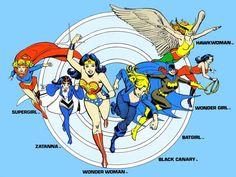 DC heroines by José Luis García-López - Comics Alliance Best Art Ever (This Week)