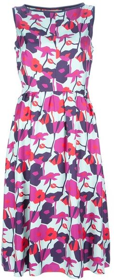 Roksanda Ilincic | Floral Silk Dress. Love it for spring and summer!!!!