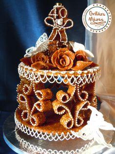 Pillangós szülinapi Gingerbread Cookies, France, Cake, Bracelets, Desserts, Cakes, Weddings, Gingerbread Cupcakes, Tailgate Desserts