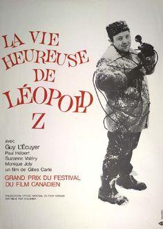 LA VIE HEUREUSE DE LÉOPOLD Z de Gilles Carle (1965) #affiche #cinema #quebecois #quebec #carle #leopoldz