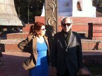 Ci scrive Syusy: Sono a #Kathmandu con Franco Battiato!