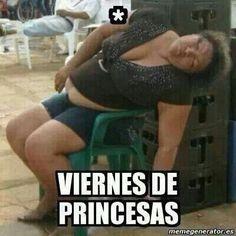 viernes de princesas