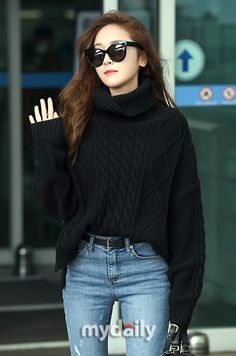 Jessica - Incheon airport towards Paris Fashion Week