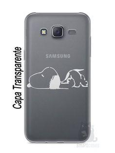 Capa Capinha Samsung J7 Snoopy #30