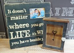 Rama foto cu mesaj cutie de chei cu piatra de ardezie Art Quotes, Chalkboard, Album, Chalkboards, Chalk Board, Card Book, Blackboards