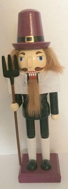 "Decorative Pilgrim Nutcracker 10 1/2"""