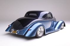 Ford Coupe is Chip Foose Designed and Handformed in Metal by Marcel De Ley - Hot Rod Network Ford Gt, Us Cars, Sport Cars, Ford Motor Company, Crate Motors, Auto Retro, Classic Hot Rod, Pt Cruiser, Chip Foose