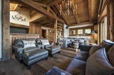 Living Room in Verbier, CH by Ezralow Design