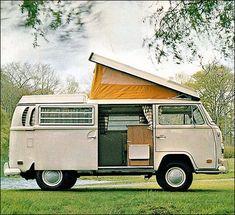 1971 Volkswagen Transporter Camper