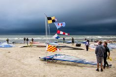 The complete windsurfing and kiteboarding race signals