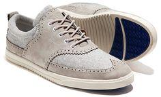 [Clae Powel Sneaker] - Sneaker + Wingtip + Gray = Versatile.
