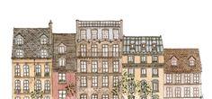 gin.mar | draw-a-city: 371. Parisian Rooftops
