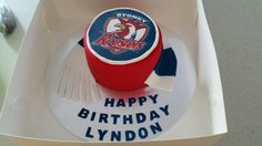 Sydney Roosters Cake for a fanatical friend...