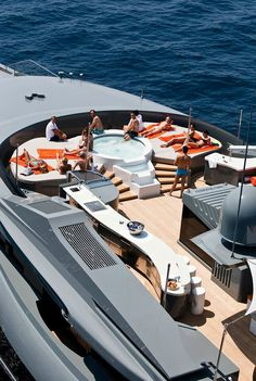 #Superyacht #sundeck