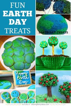 Earth Day Treats for Kids!