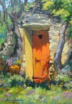 Borie Doorway, Provence