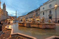 Piazza Navona Rome, Italy.
