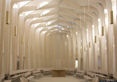 Bishop Edward King Chapel; designed by Niall McLaughln Architects