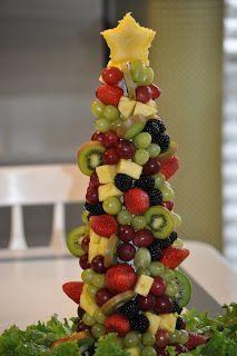 Christmas Tree Fruit.33 Best Diy Fruits Tree Images Food Food Cakes Fruit