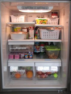 Clean & Scentsible: Top Organization Projects  how to organize your fridge