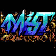 Today on Mistigram - one final ANSI art Mist logo by Nail (like all the rest!) from MIST1116's infofiles.  Not very Christmassy is it all sharp points and ribbons of gore? It is surely no accident. Which reminds me wear eye protection while walking by...