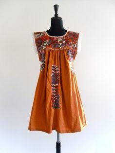 Mexican Oaxacan dress