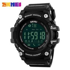 546b0541c96d SKMEI Men s Bluetooth Smart Watch with Activity Tracker and Reminders