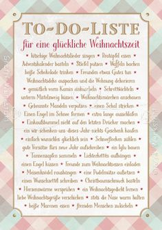 To-Do-Liste - Postkarte - Grafik Werkstatt Bielefeld