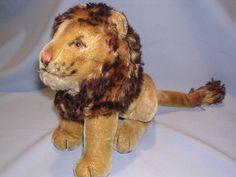 """vintage Steiff """"Leo"""" Lion"""