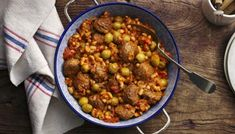 Rick Stein's meatballs in a spicy tomato sauce recipe - BBC Food Minced Beef Recipes, Mince Recipes, Meatball Recipes, Fish Recipes, Cooking Recipes, Spicy Tomato Sauce, Tomato Sauce Recipe, Beef And Pork Meatballs, Rick Stein