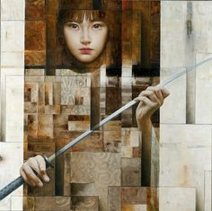 ghost in the machine - Paintings by Sergio Cerchi