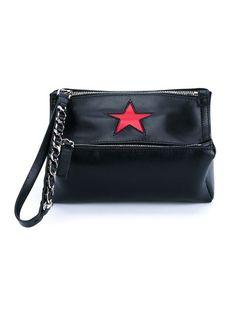 GIVENCHY Mini Pandora Bag. #givenchy #bags #shoulder bags #leather #cotton