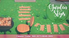Animal Crossing Guide, Animal Crossing Villagers, Animal Crossing Qr Codes Clothes, Path Design, Sign Design, Motifs Animal, Forest Design, Custom Design, Coding