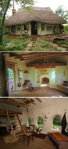 Eco-friendly Hobbit House For $250