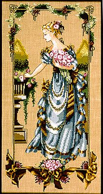 Garden Beauty - Mirabilia Cross Stitch Pattern