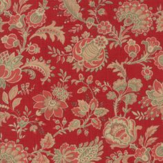French General Moda ATELIER DE FRANCE Rouge 13807 11 Quilt Fabric By The Yard