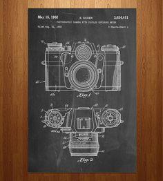 Vintage Camera Patent Art Print Set by Patent Prints on Scoutmob Poster Art, Design Poster, Poster Prints, Deco Dyi, Art Mural, Wall Art, Framed Art, Etiquette Vintage, Camera Art
