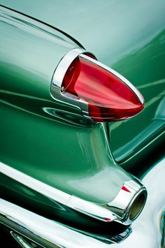 1956 Oldsmobile 98 Taillight Photograph