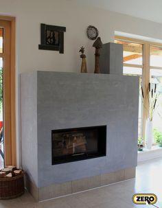 Designová vysoce odolná dekorační stěrka ZERO MagicTouch díky vysoké teplotní odolnosti a čistitelnosti vhodná na krbové obestavby. Více než 270 barevných variant a stovky možností dekorů.
