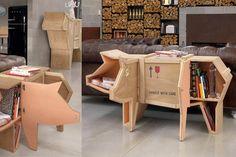 Muebles de madera originales