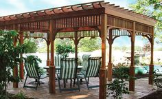 Before installing the arches, pergolas and arbors it is better to think about it, to develop a plan of the site and its style yourself or with the help of a professional designer. Description from betterimprovement.com. I searched for this on bing.com/images