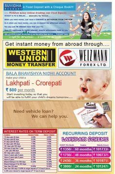Bharat Bank Leaflet Front